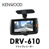 DRV-610�����å�KENWOOD���ɥ饤�֥쥳���������ɥ�쥳��GPS��¢��2.7�վ� �ե�HD 3M(�ᥬ)�ե�ϥ��ӥ����Ͽ�� �����ϥ����ڥå� GPS/G�������