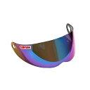 ★即納★SIMPSON(シンプソン)◆付け換えシールド「FreeStop」◆レインボー(スモークベース)◆SB13 OUTLAW DB RX10適応◆