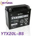 ytx20l-bs 最高品質 GS YUASA バイク バッテリー YTX20L-BS ★充電・液注入済み GSユアサ (互換:YTX20HL-BS GTX20L-BS FTX20L-BS )