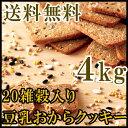 20雑穀入り豆乳おからクッキー 業務用 4kg 常温商品