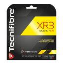【12Mカット品】テクニファイバー XR3(1.25mm/1.30mm)硬式テニス マルチフィラメントガット(Tecnifibre XR3 )TFR910