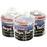 トーナ メガ タック オーバー グリップ XL (ウェットタイプ) 各色 103cm×29mm 30本入り Tourna Mega Tac XL Pack Overgrip 30 Gripの画像