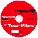 テクニファイバーTECNIFIBRE プロレッドコード ワックス PRO RED CODE WAX【テニスガット(ロールガット200m)】【送料無料】