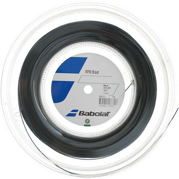 ☆超特価☆硬式テニスガット バボラ BABOLAT RPMブラスト RPM BLAST 200m 【ロールガット テニスストリング】【送料無料】[テニスショップ グランドスラム]