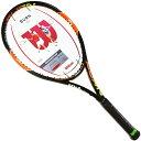 【在庫処分セール】【送料無料】WILSON BURN100 ウィルソン バーン100 2015年 NEWモデル テニスラケット