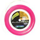 Yonex Poly Tour Pro Pink ヨネックス ポリツアープロ ピンク200mロールガット、1.25m
