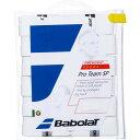 バボラ プロチームSP×12 白 Babolat ProTeam SP12PK オーバーグリップ