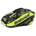 2016年Newナダルモデル! バボラ 2016 ピュアアエロ(12本) ラケットバッグ Babolat Pure Aero Racket Bag