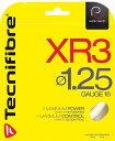 Tecnifibre XR3 (テクニファイバー エックスアール3) ノンパッケージ12mロールカット品/1.25mm、1.30mm
