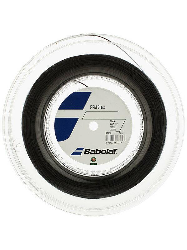 送料込Babolat RPM Blast バボラブラスト200mロールガット/1.20mm、1.25mm、1.30mm