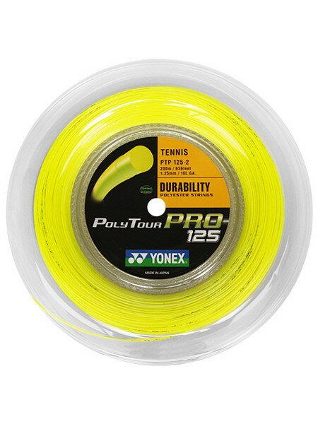 Yonex(ヨネックス) ポリツアープロ(Poly Tour Pro)200mロールガット/1.20mm、1.25mm、1.30mm