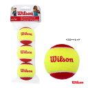 ウイルソン(Wilson) テニスボール スターター・イージー・ボール ノンプレッシャー(3球入り) WRT137001