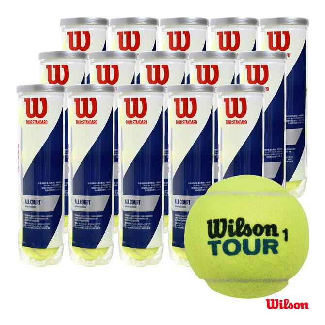 ウイルソン(Wilson)テニスボールTOURSTANDARD(ツアー・スタンダード)4球入1箱(1