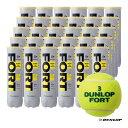 ダンロップ(DUNLOP) テニスボール FORT(フォート)4球入 1箱(30缶/120球)