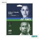 ヨネックス(YONEX) テニスガット ポリツアープロ125(グラファイト) 単張りガット PTGP125-278