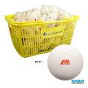 ショーワ(SHOWA) ソフトテニスボール アカエムボール かご入り 120球 ホワイト M-30030