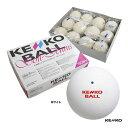 ケンコー(KENKO) ソフトテニスボール 1箱(12球入) ホワイト TSOW-V