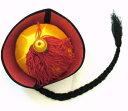 辮髪付き宮廷帽