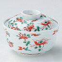 碗 赤絵花鳥蓋向 身の直径(最大径):113・蓋付の高さ:78/業務用/新品/小物送料対象商品