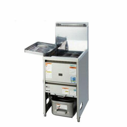 業務用/新品タニコー低輻射熱式NBガスフライヤーTGFL-45C(旧型式:NB-TGFL-C45)幅