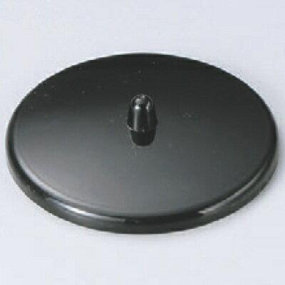 湯呑蓋 【P.P湯呑蓋(つまみ付)黒2.3寸】直径:73、内径:69【業務用】【グループI】【プロ用】