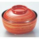 煮物椀 4寸きさらぎ椀朱かすり 漆器 高さ61 直径:126/業務用/新品/小物送料対象商品