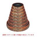 寿司桶 D.Xタイコ型すし桶金梨地御所車尺0寸 高さ70 直径:306/業務用/新品/小物送料対象商品
