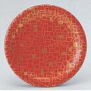 回転寿司皿 寿司皿朱に金石目 高さ21 直径:150 (業務用)(グループI)