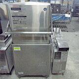 【送料別】【中古】【業務用】 食器洗浄機(ブースター別) ホシザキ JW-500F3/WB-11KH-500 幅640奥行640高さ1395 三相200V