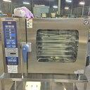 【中古】スチームコンベクションオーブン ニチワ電機 SCOS-610RH-LT 幅1030×奥行660×高さ800 【送料別途見積】【業務用】