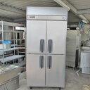 【中古】縦型冷凍冷蔵庫 パナソニック SRR-J961CVSA 幅900×奥行650×高さ1950 【送料別途見積】【業務用】