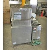 【中古】食器洗浄機 ホシザキ JWE-680A 幅640×奥行655×高さ14054 三相200V 60Hz専用 都市ガス 【送料無料】【業務用】