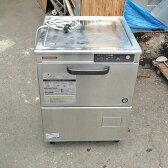 【中古】食器洗浄機 ホシザキ JW-400TUF3 幅600×奥行600×高さ830 三相200V 50Hz専用 【送料別途見積】【業務用】