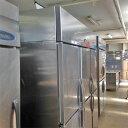 【中古】縦型冷凍冷蔵庫 フジマック FR18890F2J 幅1800×奥行800×高さ1950 【送料無料】【業務用】