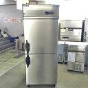 【中古】縦型冷凍冷蔵庫 大和冷機 211LS1-EC 幅750×奥行800×高さ1905 【送料別途見積】【業務用】