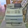 【中古】レジスター カシオ計算機 TE-100 幅330×奥行445×高さ280 【送料無料】【業務用】