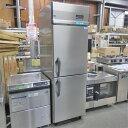 【中古】縦型冷凍冷蔵庫 大和冷機 223NS1 幅600×奥行800×高さ1905 三相200V 【送料別途見積】【業務用】