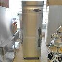 【中古】2ドア冷凍庫 ホシザキ HF-63Z 幅630×奥行800×高さ1890 【送料別途見積】【業務用】