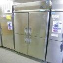 【中古】縦型冷凍冷蔵庫 1凍3蔵 大和冷機 403S1-EC 幅1200×奥行800×高さ1900 三相200V 【送料別途見積】【業務用】