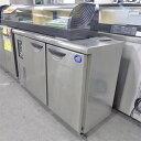 【中古】冷蔵コールドテーブル 三洋電機 SUC-N1241J 幅1200×奥行450×高さ800 【送料別途見積】【業務用】