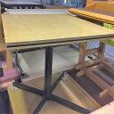 【中古】洋風テーブル 幅700×奥行660×高さ730 【送料無料】【業務用】