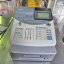 【中古】レジスター カシオ計算機 TE-2100 幅365×奥行450×高さ326 【送料別途見積】【業務用】