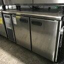 【中古】冷蔵コールドテーブル 福島工業 RXC-40RN7 幅1200×奥行600×高さ800 【送料別途見積】【業務用】