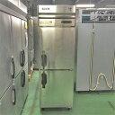 【中古】縦型冷凍庫 ホシザキ HF-63LX3 幅625×奥行800×高さ1890 三相200V 【送料別途見積】【業務用】