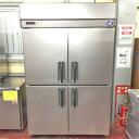 【中古】4ドア冷凍冷蔵庫 パナソニック SRR-K1283CS 幅1200×奥行800×高さ1950 三相200V 【送料別途見積】【業務用】