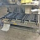 【中古】パフェたい焼き器(3連・4匹) GEE-01 幅1100×奥行510×高さ200 LPG(プロパンガス) 【送料別途見積】【未使用品】【業務用】