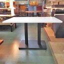 【中古】テーブル 白 幅1200×奥行750×高さ710 【送料別途見積】【業務用】