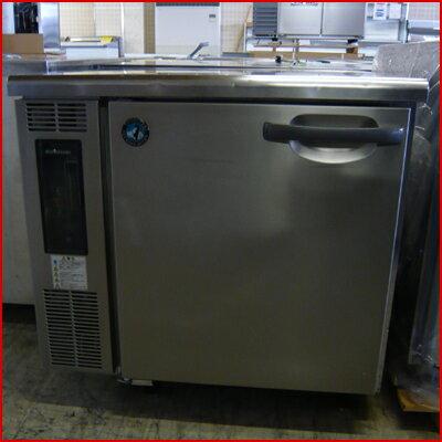 中古 業務用 冷蔵コールドテーブル RT-80SDC 幅800×奥行800×高さ800 単相100V ホシザキ 星崎 厨房機器 送料別途見積