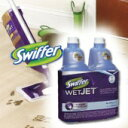 (スプレーモップ フローリングモップ) WETJET 詰め替え用洗剤 1.25L x 2本セット