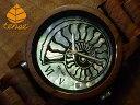 テンス【tense】アンモナイトモデル No.436 ローズウッド使用1971年創業のカナダ木工専門技を結集し、匠が創り上げたTENSE木製腕時計(ウッドウォッチ)。テンス社日本総輸入元公式販売サイト。【日本総輸入元のメンテナンス保証付】